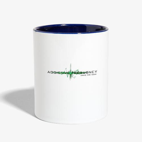Addictive Frequency - Contrast Coffee Mug