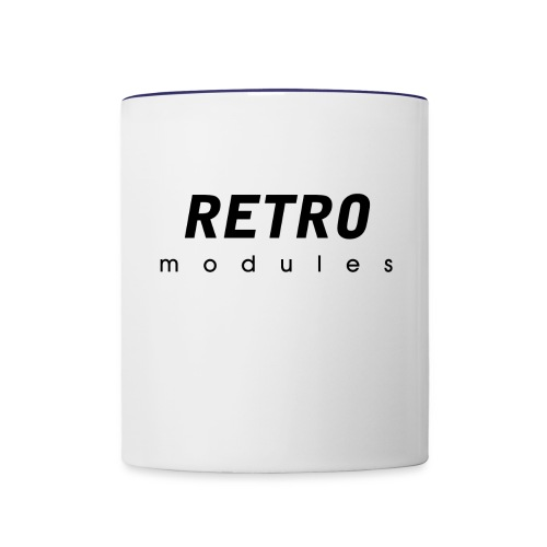 Retro Modules - sans frame - Contrast Coffee Mug