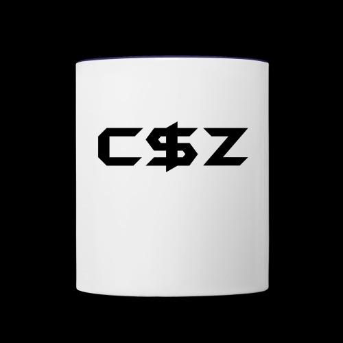C$Z Black - Contrast Coffee Mug