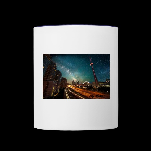City Nights - Contrast Coffee Mug