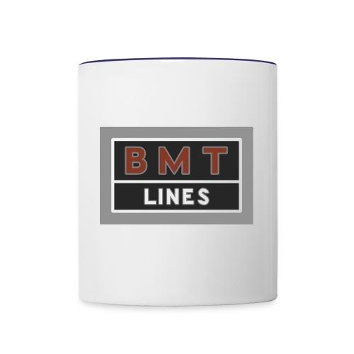 NYC Brooklyn Mass Transit - Contrast Coffee Mug