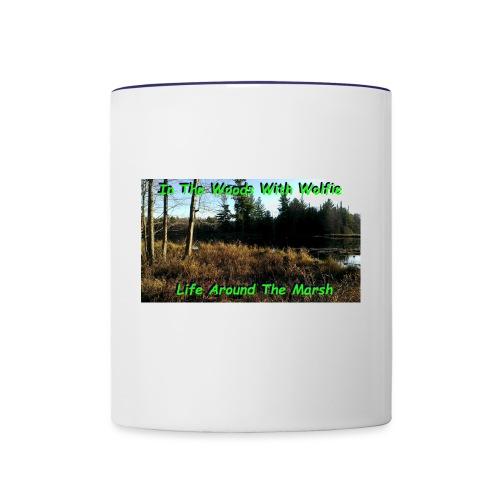 Life Around The Marsh - Contrast Coffee Mug
