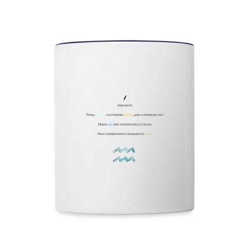 Aquarius (Mug) - Contrast Coffee Mug