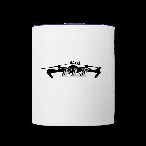 Drone Pilot Got Fly - Contrast Coffee Mug