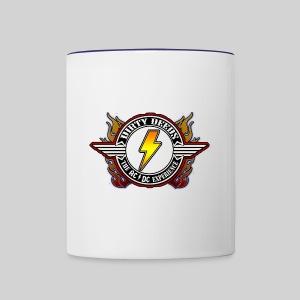 Dirty Deeds Flame Emblem - Contrast Coffee Mug