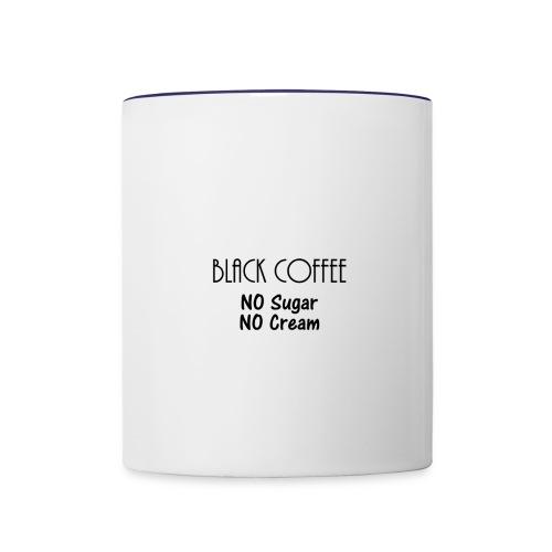 Black Coffee Mug - Contrast Coffee Mug