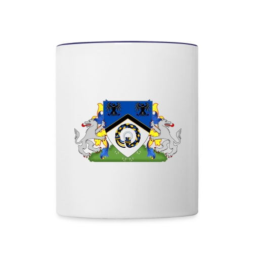 Kingdom of Hrafnarfjall Coat of Arms - Contrast Coffee Mug