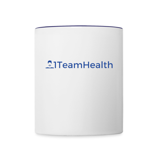 1TeamHealth Simple - Contrast Coffee Mug