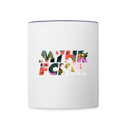 MTHRFCKR - Contrast Coffee Mug