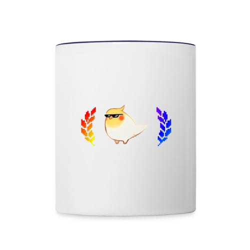 cool_birb - Contrast Coffee Mug