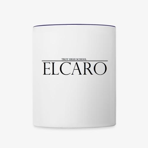 Elcaro Header - Contrast Coffee Mug