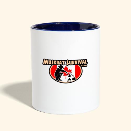 Muskrat Badge 2020 - Contrast Coffee Mug