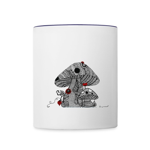 Magic Mushroom - Contrast Coffee Mug