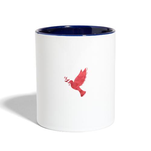 dove - Contrast Coffee Mug