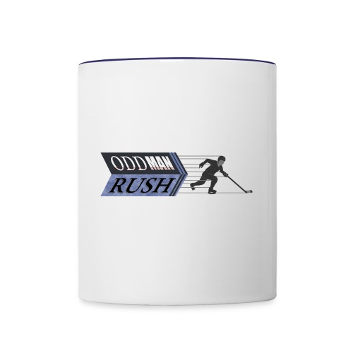 Odd Man Rush Player - Contrast Coffee Mug