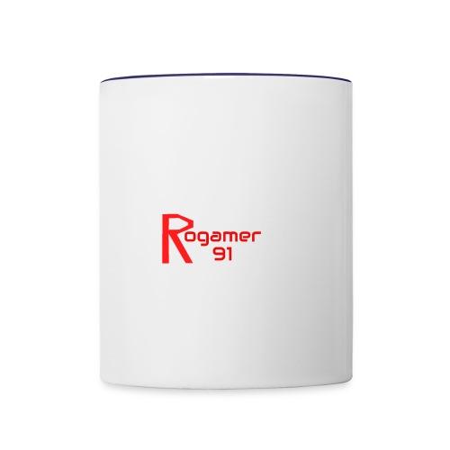 Rogamer91 lable - Contrast Coffee Mug