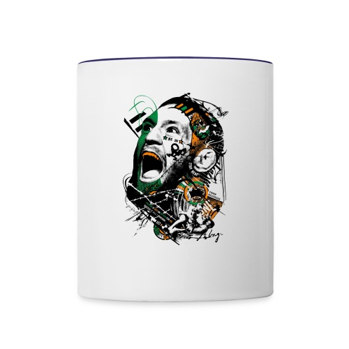 Conor McGregor Fury - Contrast Coffee Mug