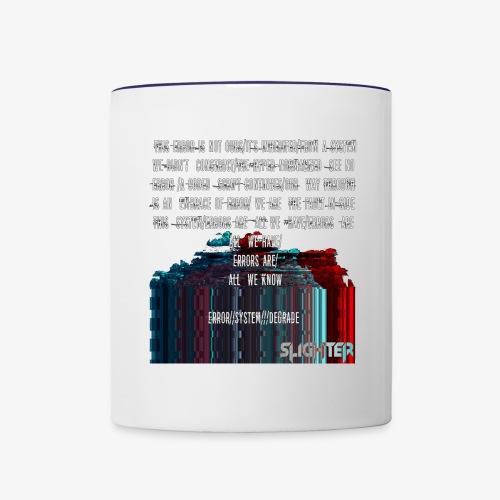 ERROR Lyrics - Contrast Coffee Mug