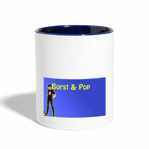 Burst & Pop Thumnail! - Contrast Coffee Mug
