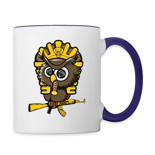 king otrg owl - Contrast Coffee Mug