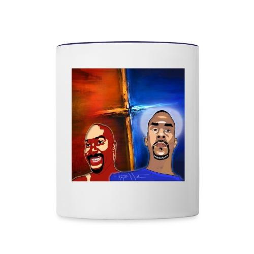 pretty tony galaxy 7 edge case - Contrast Coffee Mug