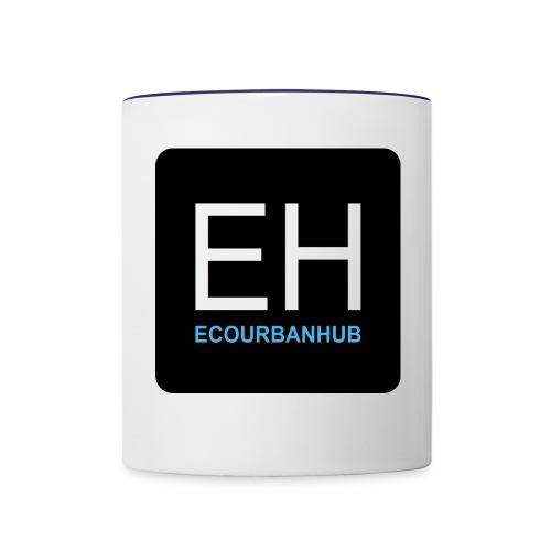 ECOURBANHUB CUP - Contrast Coffee Mug
