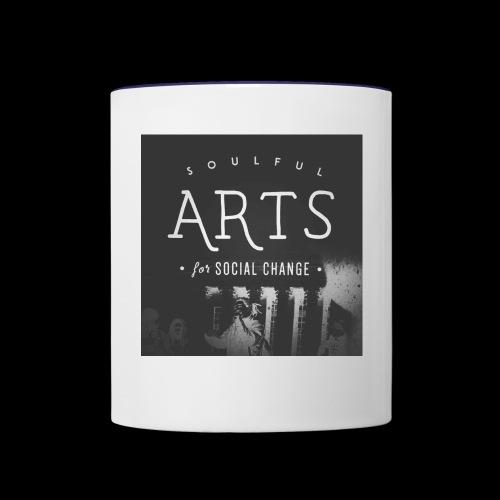 Soulful Arts for Social Change - Contrast Coffee Mug