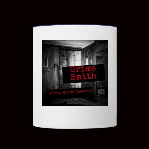 Crime Smith: A True Crime Podcast - Contrast Coffee Mug