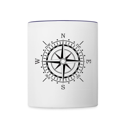 Compass - Contrast Coffee Mug