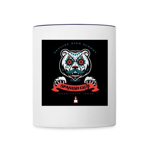Grizz Day of the Dead Sweatshirt - Contrast Coffee Mug