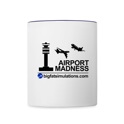 The Official Airport Madness Mug - Contrast Coffee Mug