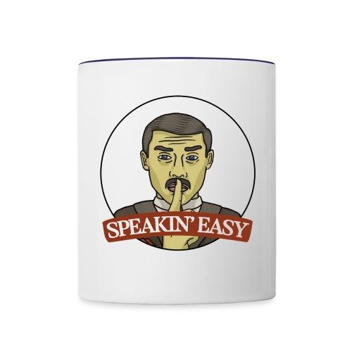 Speakin Easy Show Logo - Contrast Coffee Mug