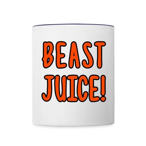 BEAST JUICE! - Contrast Coffee Mug