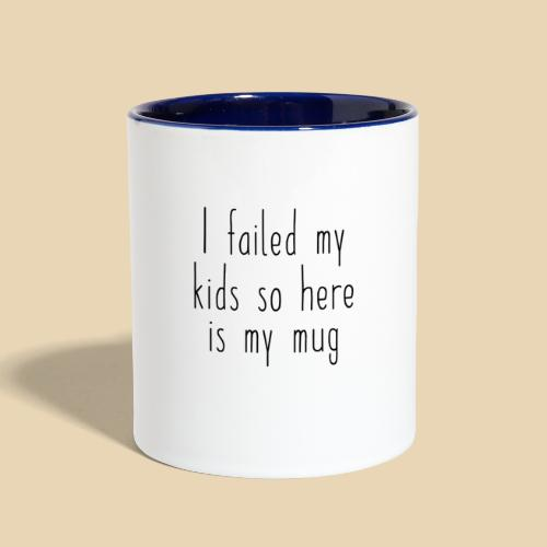 Good Parent Gift - Contrast Coffee Mug