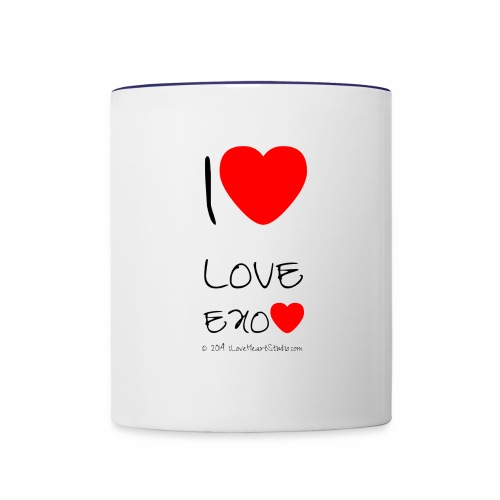exo - Contrast Coffee Mug