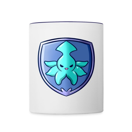 Squid Shield - Contrast Coffee Mug