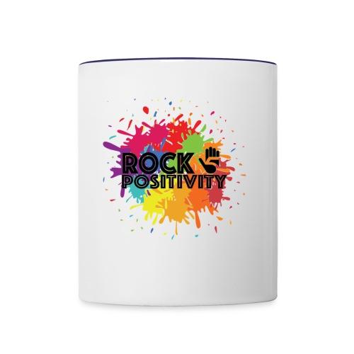 Rock Positivity - Contrast Coffee Mug