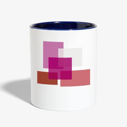 Lesbian Pride Logo - Contrast Coffee Mug