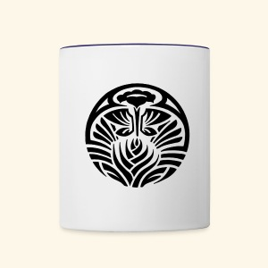 Tribal Tropic - Contrast Coffee Mug