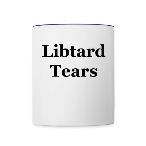 LibtardTears - Contrast Coffee Mug