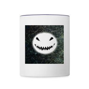 Angry Snowman - Contrast Coffee Mug