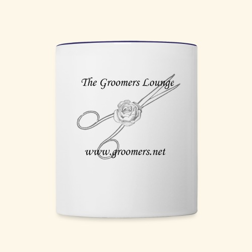 The Groomers Lounge - Contrast Coffee Mug