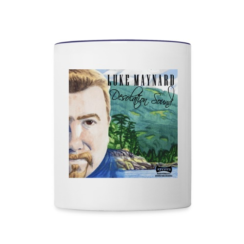 Luke Maynard Desolation Sound cover - Contrast Coffee Mug