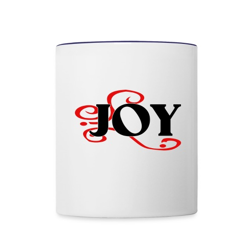 INTENTIONALLY INFUSED JOY - Contrast Coffee Mug