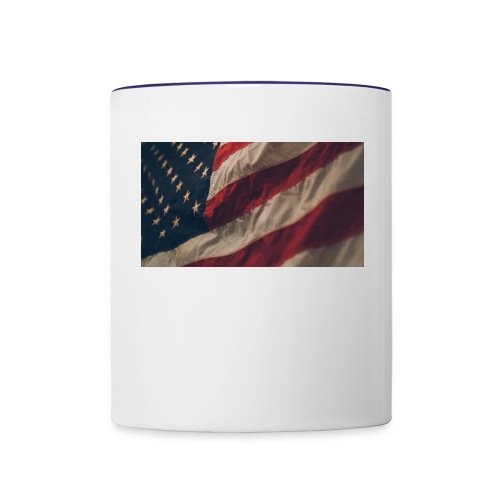 United States Flag - Contrast Coffee Mug