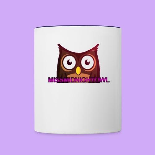 MissMidnightOwl Drink containers - Contrast Coffee Mug
