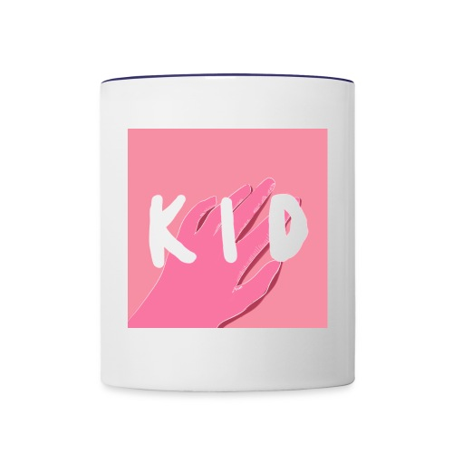 kid cover illustration - Contrast Coffee Mug