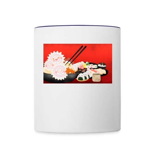 Ramen and Friends - Contrast Coffee Mug