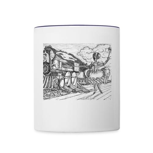 Fantasy train - Contrast Coffee Mug