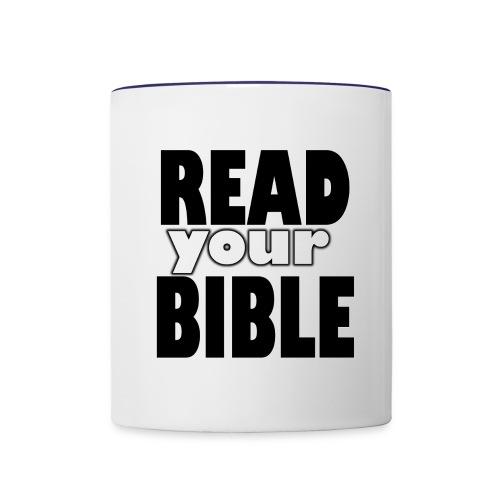 Read your Bible Hope Possible - Contrast Coffee Mug